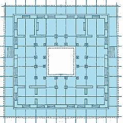 Vastu: plan du rez de chaussée