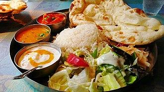 Cuisine of Karachi - Image: Vegetarian Curry