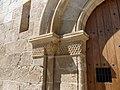 Velilla de Cinca - Ermita de San Valero - Portada - Capiteles 09.jpg