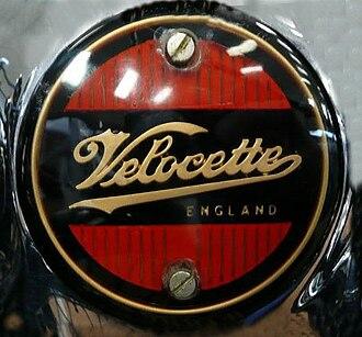 Velocette - Image: Velocette motorcycle badge