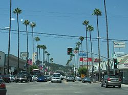 Ventura and Laurel Canyon boulevards, July 2008