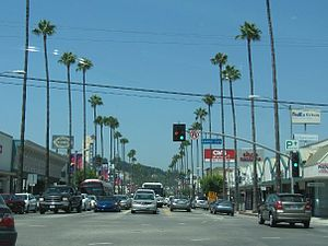 Studio City, Los Angeles - Ventura and Laurel Canyon boulevards, July 2008