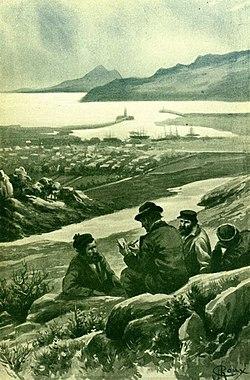 Verne - Les Naufragés du Jonathan, Hetzel, 1909, Ill. page 298