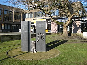 Versmold - Memorial for the Jewish citizens in Versmold