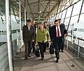 Vicecanciller encargado, Kintto Lucas, recibe a ex presidenta chilena, Michelle Bachelet (4690597523).jpg