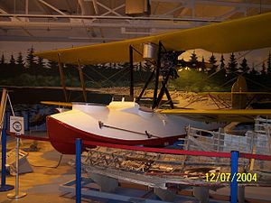Royal Aviation Museum of Western Canada - A Vickers Vedette replica at the Western Canada Aviation Museum, Winnipeg, Manitoba, Canada