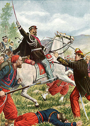 Solferino order of battle - Victor Emanuel at the battle of Solferino
