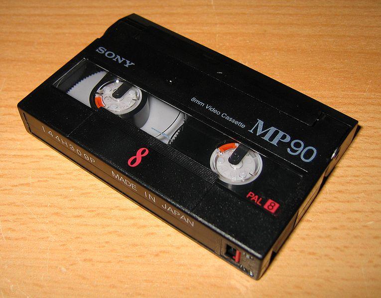 vhs adapter cassette