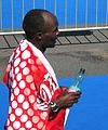 Vienna City Marathon 20090419 Gilbert-Kipruto Kirwa KEN a few minutes after winning.jpg