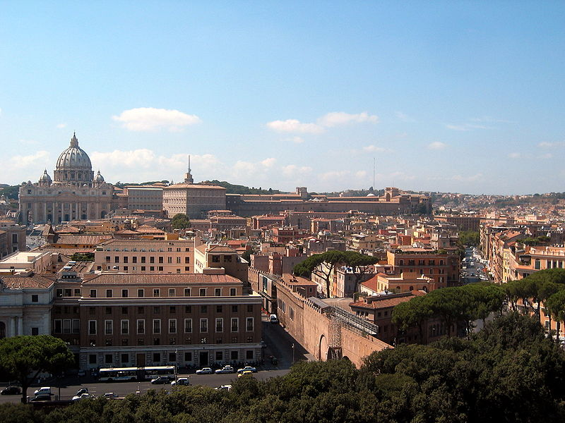 File:View Castel sant angelo.jpg