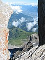 View down from the Haute Cime - panoramio (1).jpg