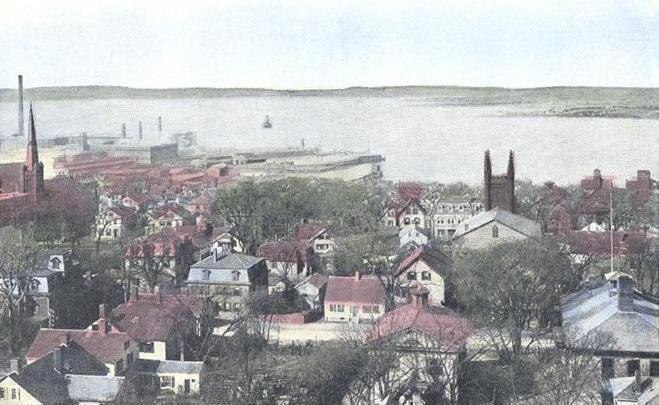 View of Bay, Fall River, MA