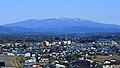 Views of Mount Moriyoshi from Tsuzureko, Kitaakita.jpg