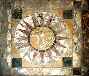 Opus sectile - Image: Villa Adriana Opus Sectile Piccole Terme