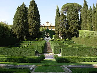 Villa I Tatti - The villa from the gardens