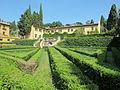 Villa schifanoia, giardino, seconda terrazza inferiore 06.JPG