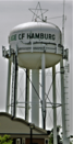 Village of Hamburg, New York Water Tower.png