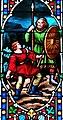 Villeréal - Église Notre-Dame - Vitrail de l'histoire de David -2.jpg