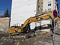 Villeurbanne - Pelle hydraulique CAT 330F sur un chantier (janv 2019).jpg