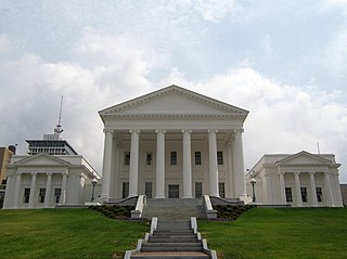 Photo of Virginia State Capitol building
