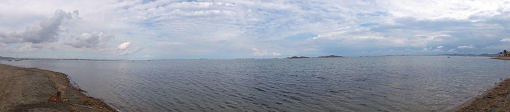 Vista panorámica de la playa de Punta Brava.JPG