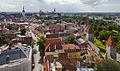 Vistas panorámicas desde la iglesia de San Olaf, Tallinn, Estonia, 2012-08-05, DD 03.JPG