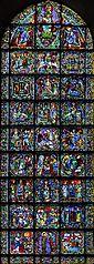 West rose windows of Cathédrale Notre-Dame de Chartres baie 050