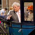 Vlaardingen - Koninginnedag 2012 - Burgemeester Tjerk Bruinsma in Landauer.JPG