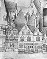 Vogelvlucht B.F. van Berckenrode detail met huizen aan de Kalverstraat - Amsterdam - 20014079 - RCE.jpg