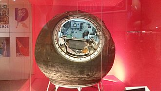 Vostok 6 - The Vostok 6 capsule in a museum display (2016)