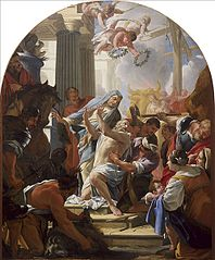 The Martyrdom of St Eustace