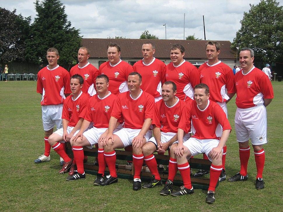 WBU Team facing England in 2006