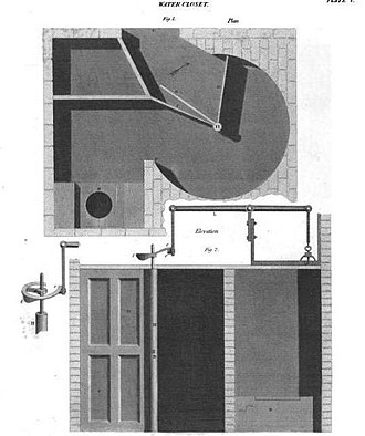 Charles Sylvester - The design for a toilet that changes the air and washes the basin automatically