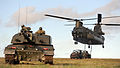 WESTCOUNTRY ARMY RESERVISTS CALL IN CHINOOK HELICOPTER DURING DYNAMIC TRAINING WEEKEND MOD 45156719.jpg