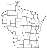 Location of Nashotah, Wisconsin