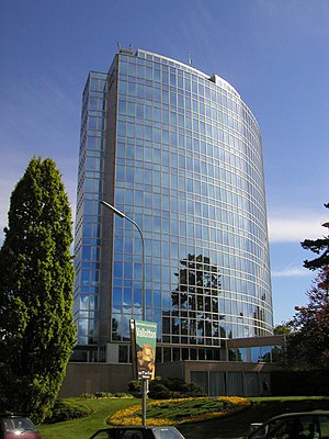 World Intellectual Property Organization - WIPO headquarters in Geneva