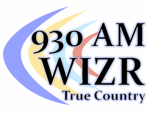 WIZR - Former logo of the radio station used from early 2010 through June 1, 2011