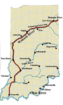 Wabash and Erie Canal  Wikipedia
