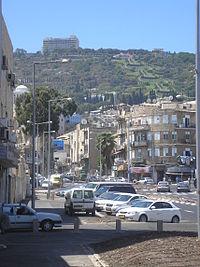 تاريخ فلسطين المدن التاريخية حيفا_التضاريس