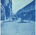 Wagons on Escolta Drive, Manila, Philippines, ca 1899 (KIEHL 126).jpeg