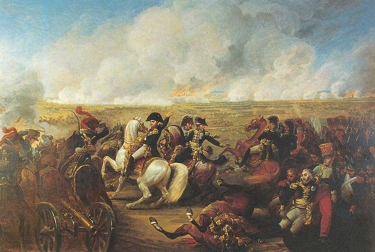Wagram-Napoleon and Bessières