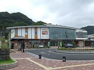 Wakasa-Takahama Station Railway station in Takahama, Fukui Prefecture, Japan