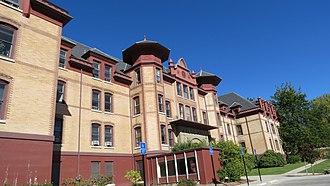 Waldo Hall - The building's exterior, 2012