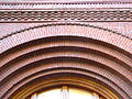 Waldschmidt (West) Hall main entrance detail - University of Portland.jpg
