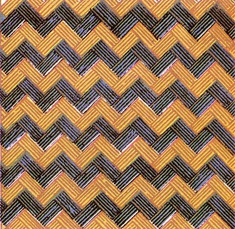 Herringbone pattern - Image: Wallpaper group pg 1