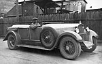 Walter 6 B, J.Knapp po vítězství na Zbraslav-Jíloviště (1929) SOA.jpg