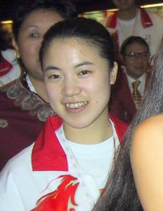Wang Nan (table tennis) - Image: Wangnan 2001