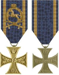 War Merit Cross, 2nd class (Brunswick)