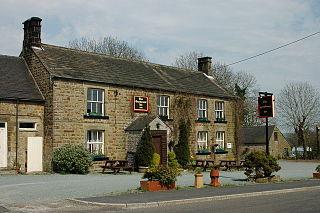 Warslow village in United Kingdom