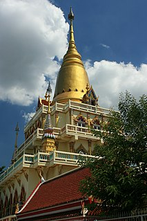 Wat Soi Thong Buddhist temple in Bangkok, Thailand
